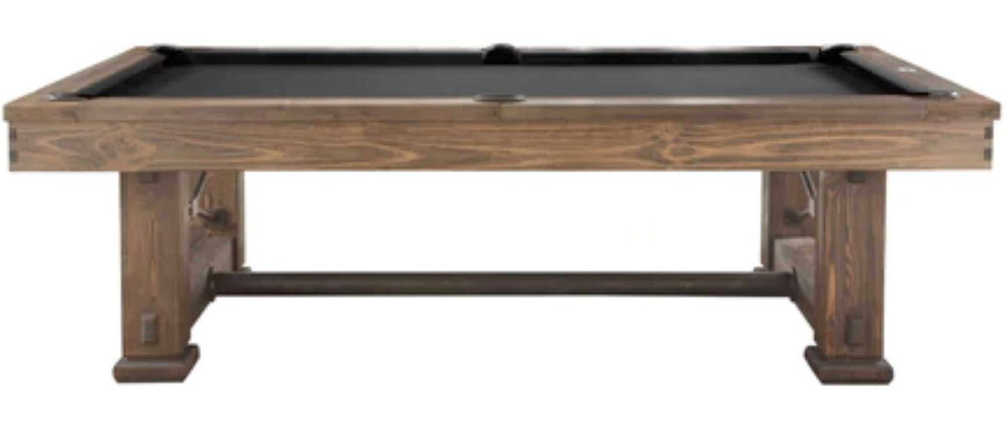 Rio Grande Slate Pool Table, Weathered Bark