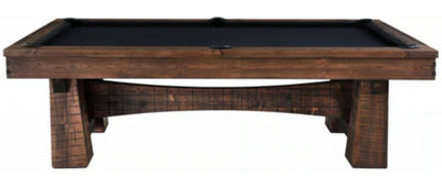 Bull Run 8' Slate Drop Pocket Pool Table