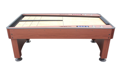 Playcraft Switchback 7' Shuffleboard Table, Cherry