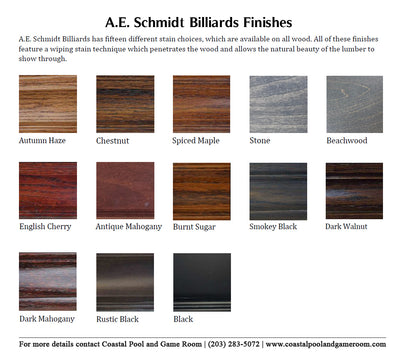 A. E. Schmidt Florence Pool Table