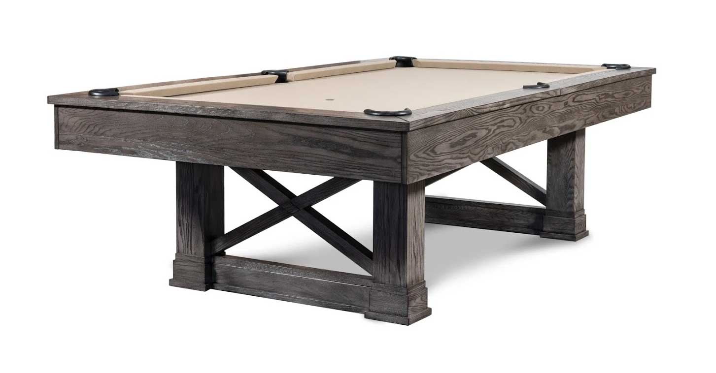 Agriturismo Pool Table in Charcoal
