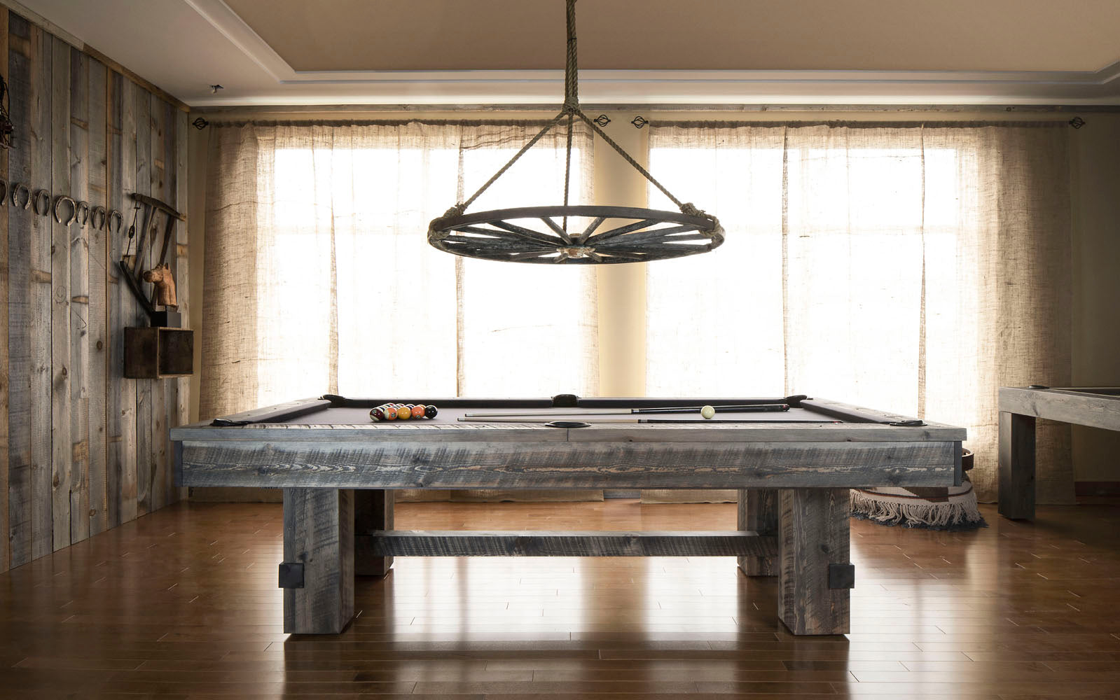 Barn Pool Table
