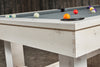 Churchill Pool Table Whitewash Finish