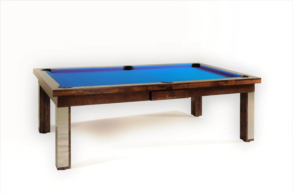 Milan - Simple Modern Pool Table - Dining Pool Table