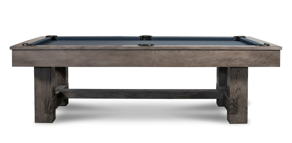 Dakota Slate Pool Table in Charcoal