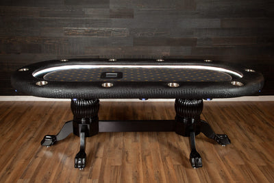 The Elite Alpha Poker Table - The King's Court