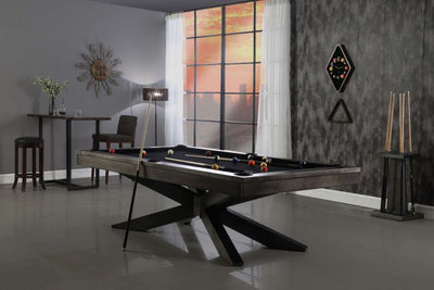 Felix Pool Table by Plank and Hide