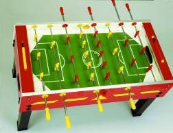 GARLANDO G-500 RED OUTDOOR FOOSBALL TABLE