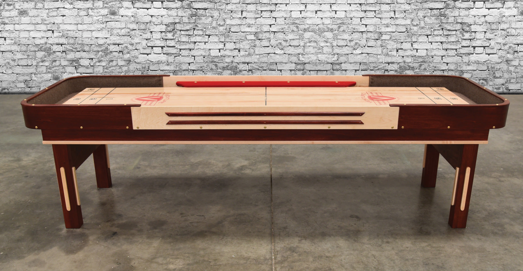 Grand Deluxe Bank Shot Shuffleboard Table