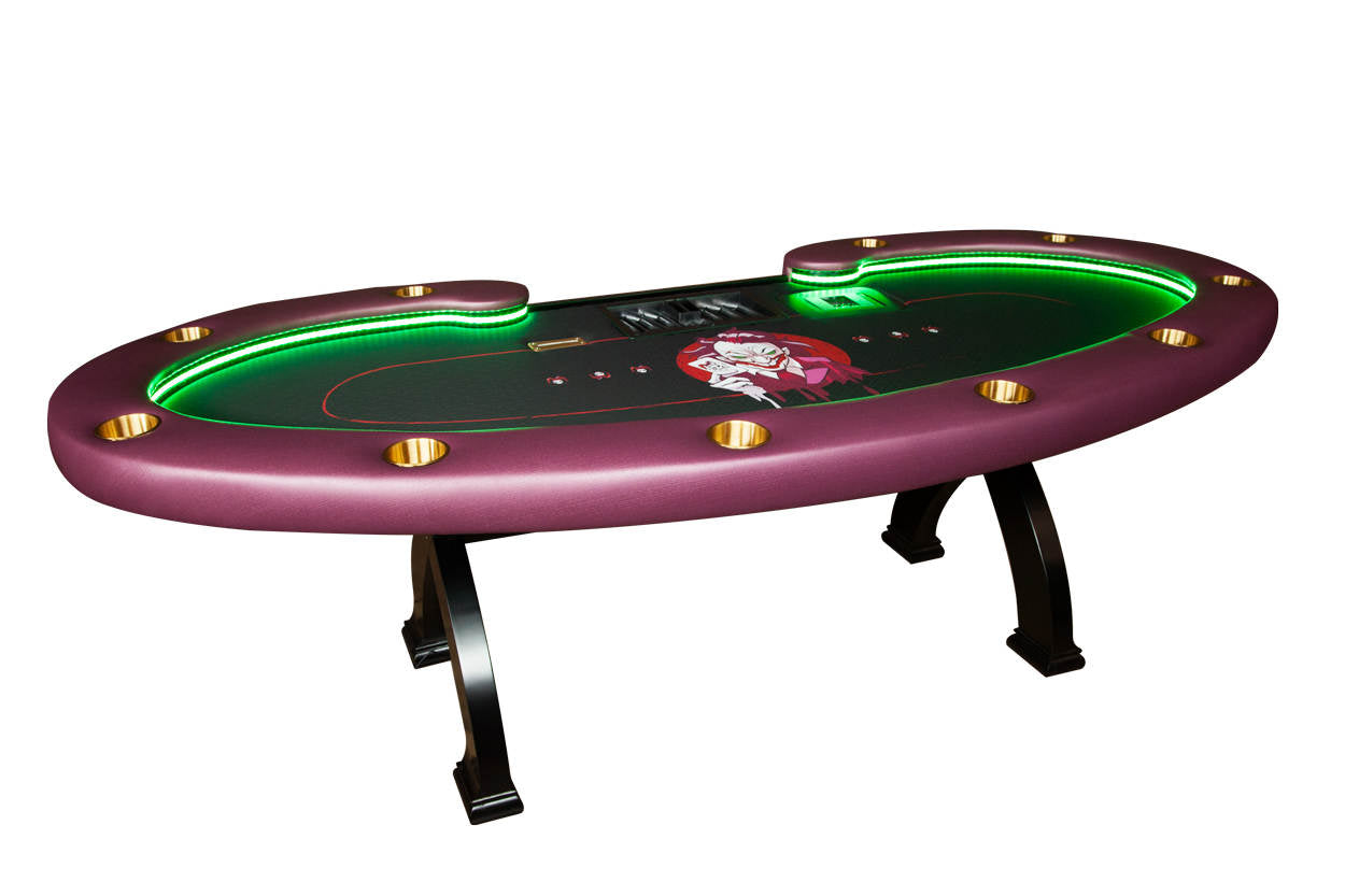 """Joker's Wild"" Lumen HD Poker Table"