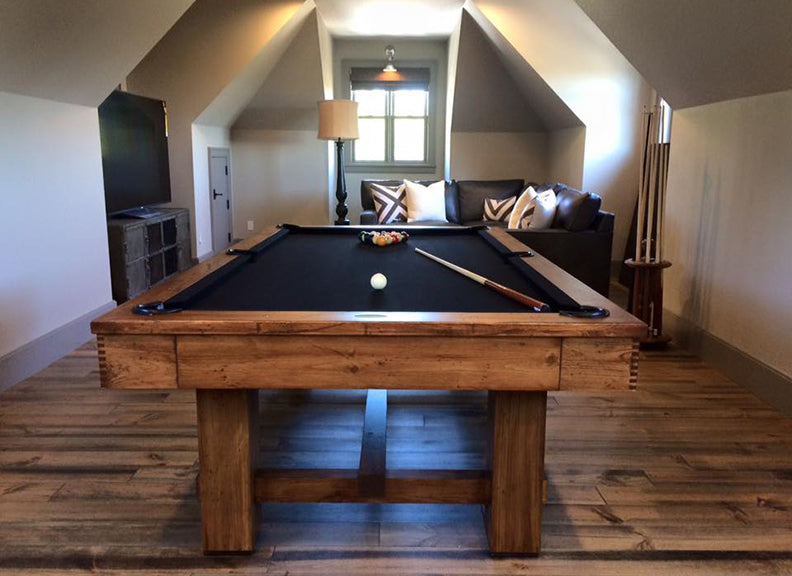 Keystone Rustic Pool Table