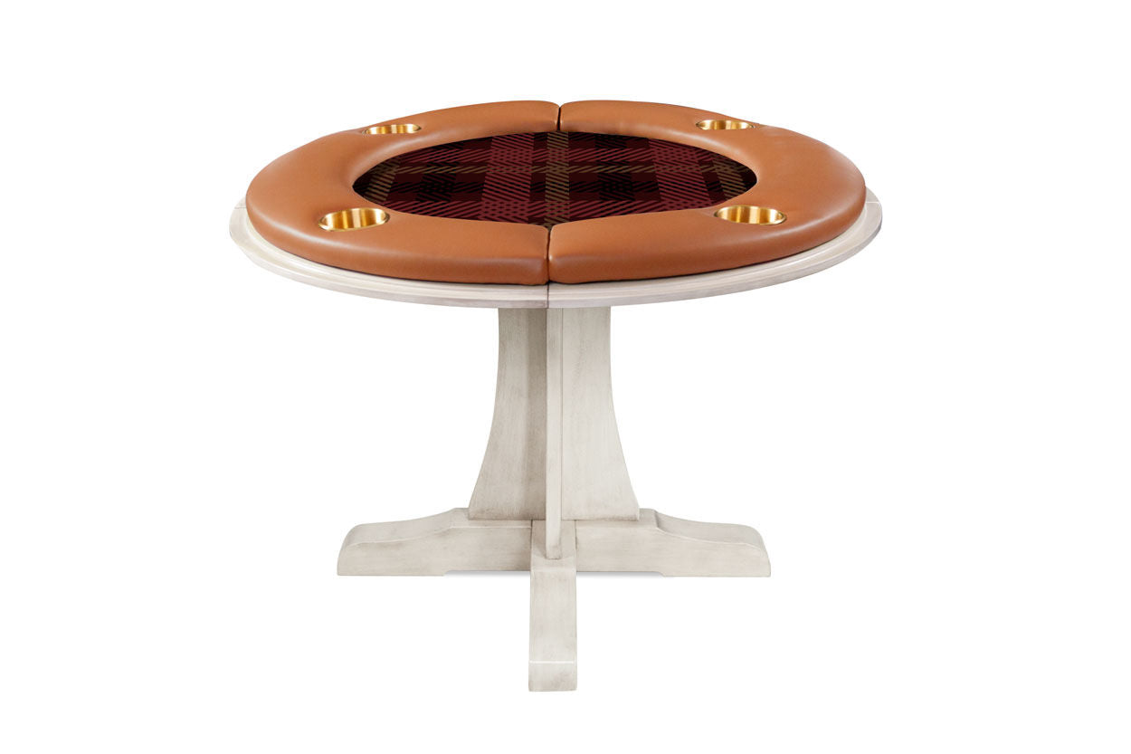 The Luna Poker Table with Dining Top