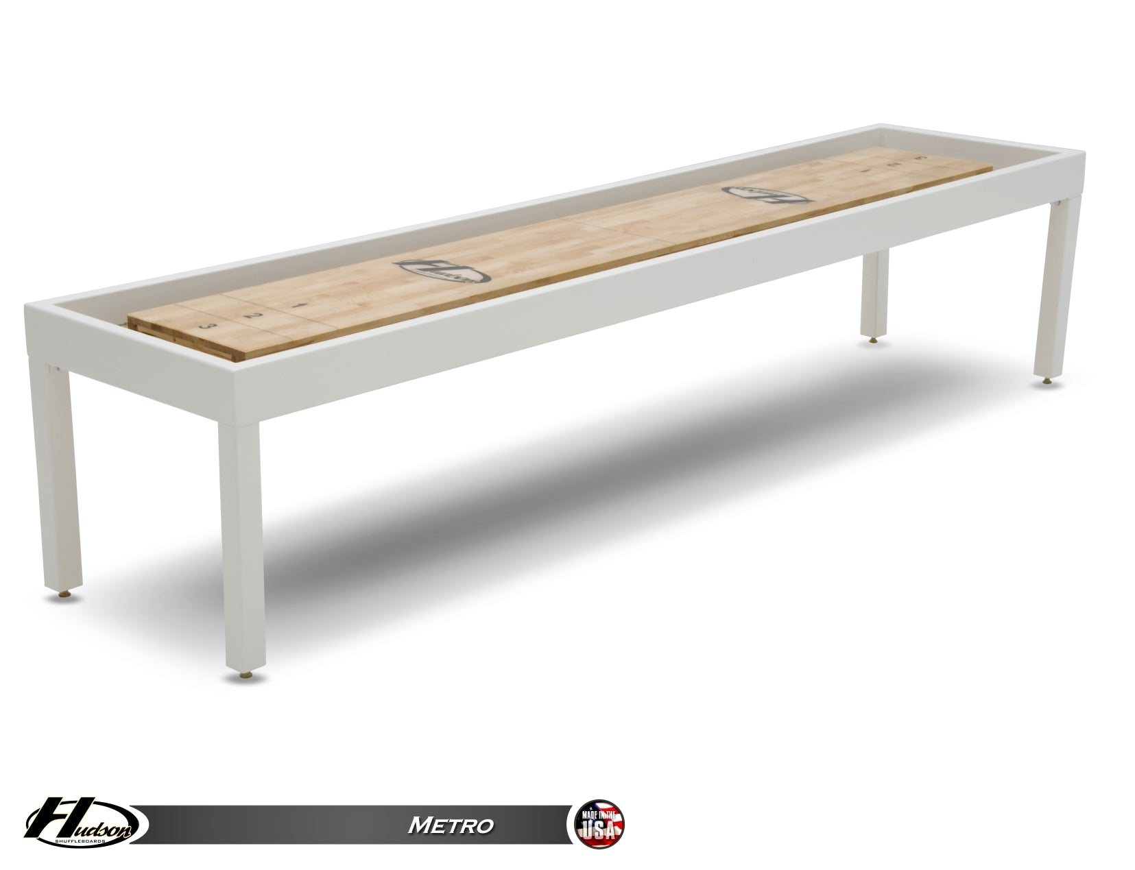 Metro Steel Shuffleboard Table