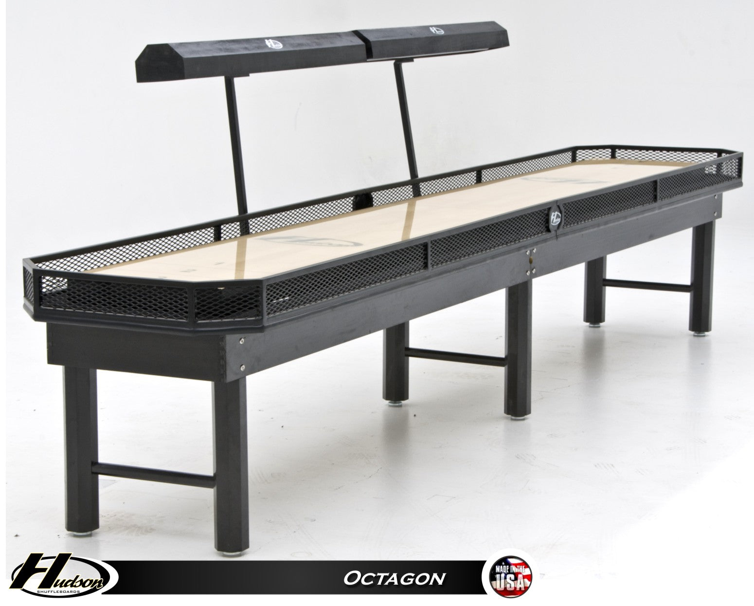 Octagon Steel Shuffleboard Table