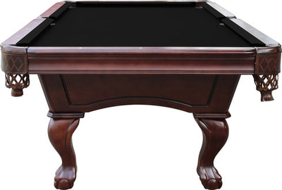 Charles River Slate Pool Table w/ Leather Drop Pockets