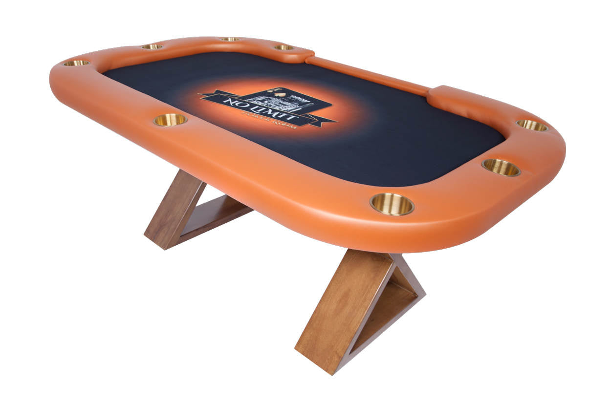 """King Me"" Helmsley Poker Table with Dining Top"