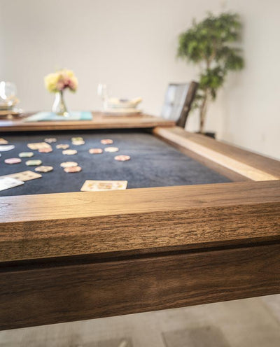 La Condo Poker Table with Dining Top