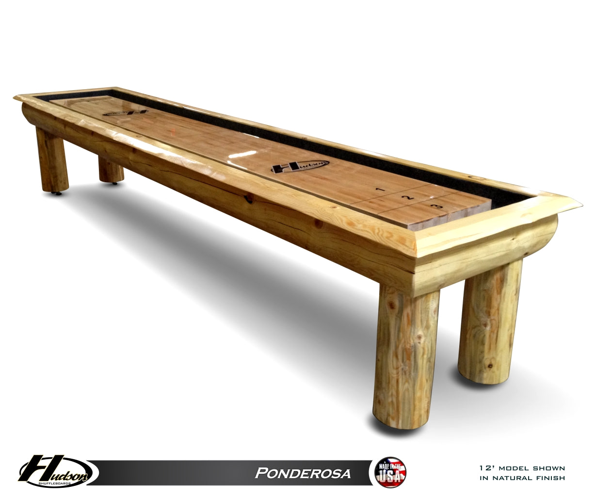 Ponderosa Shuffleboard Table