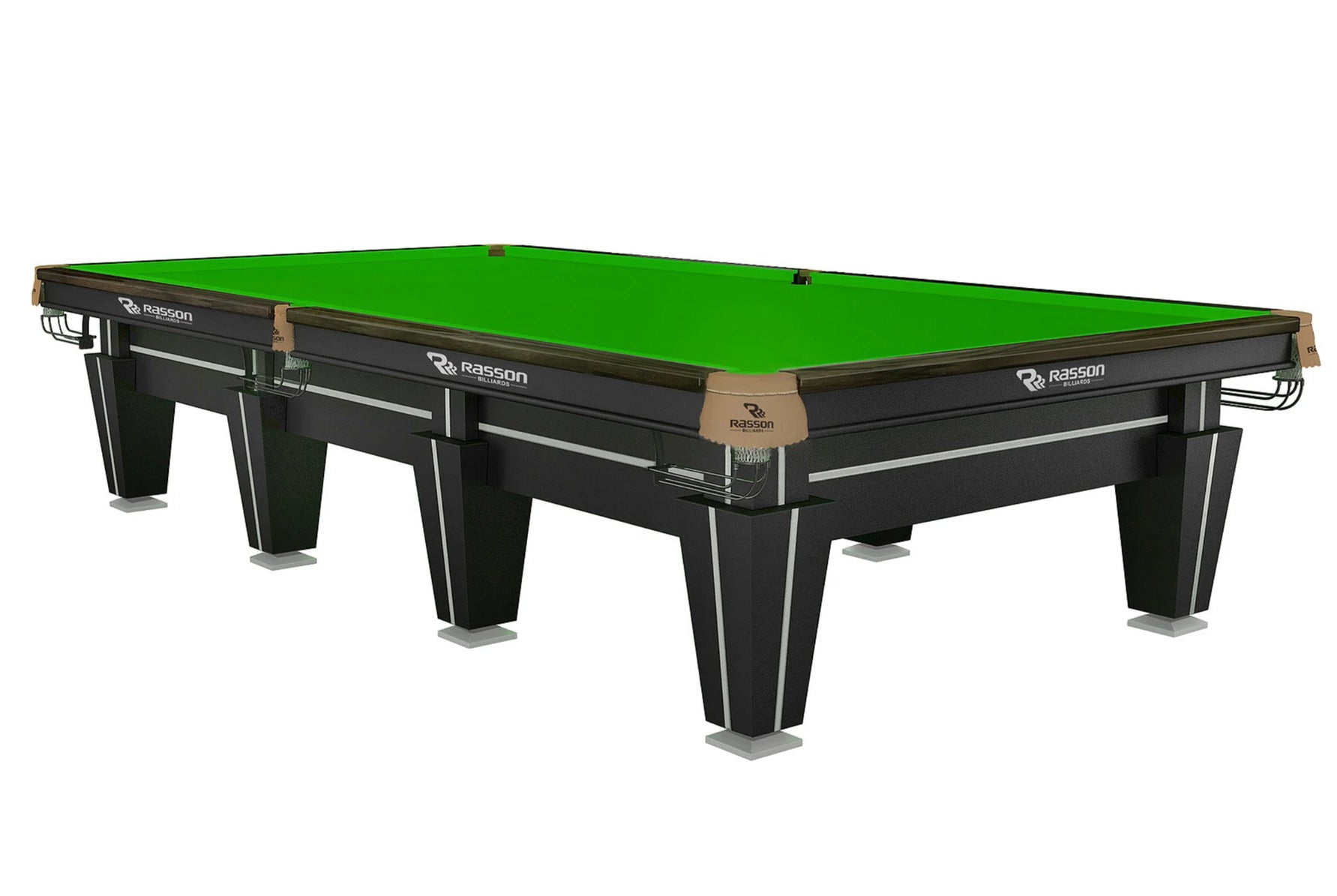 Rasson 12' Magnum Snooker Commercial Pool Table