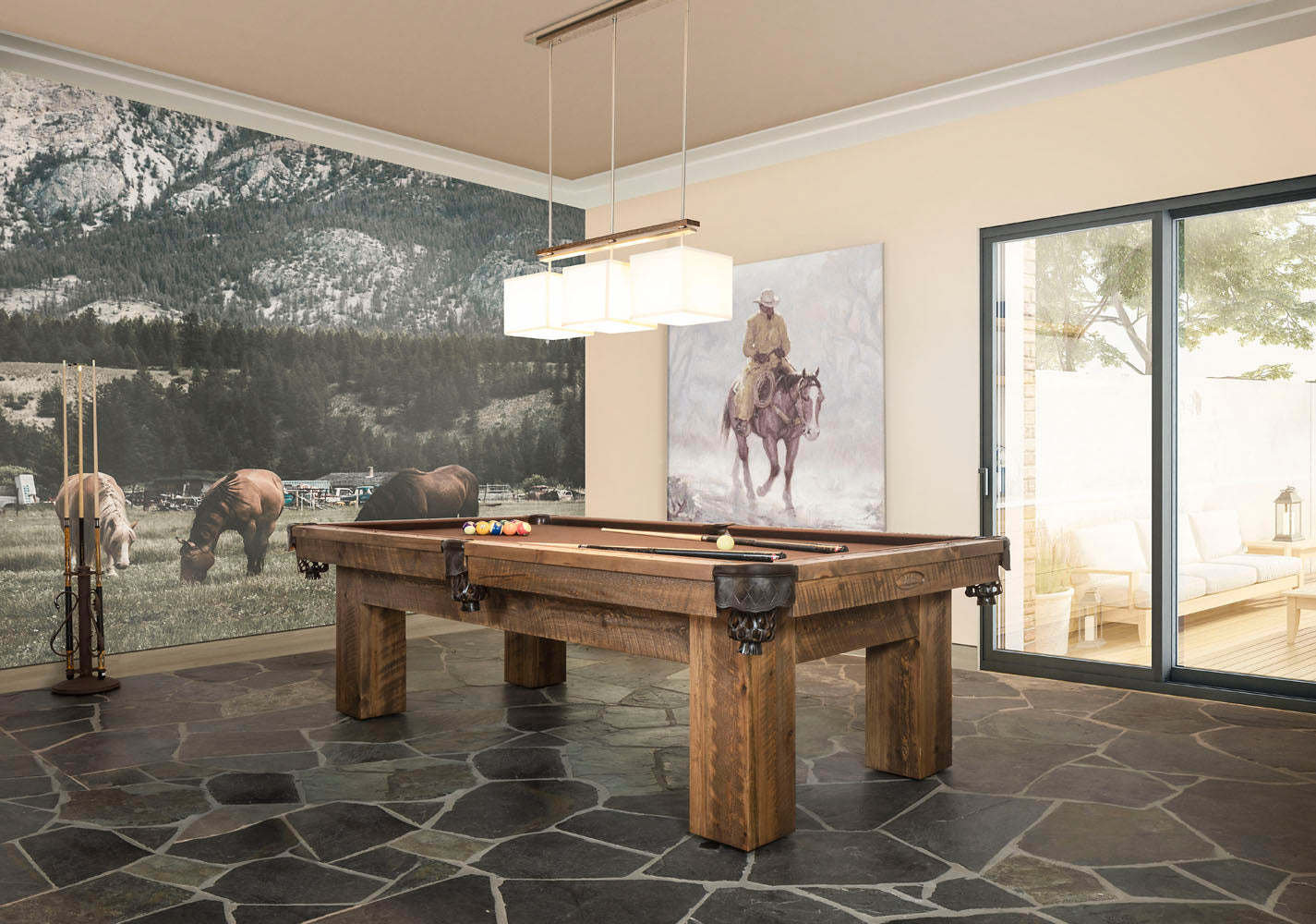 Ranch Pool Table