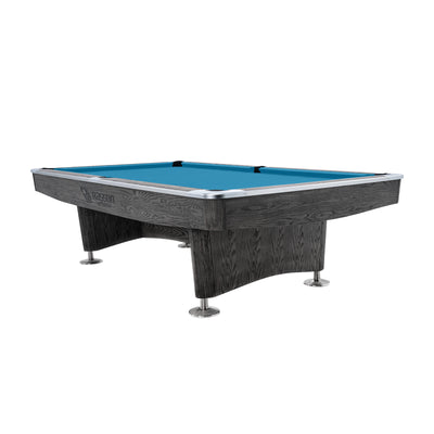 Rasson 9ft Challenger Plus Commercial Pool Table, Weathered Grey