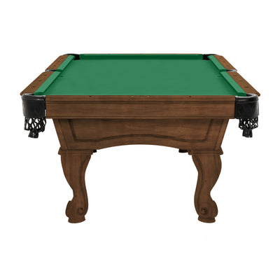 The Resolute Pool Table, Whiskey with Rams Horn Legs
