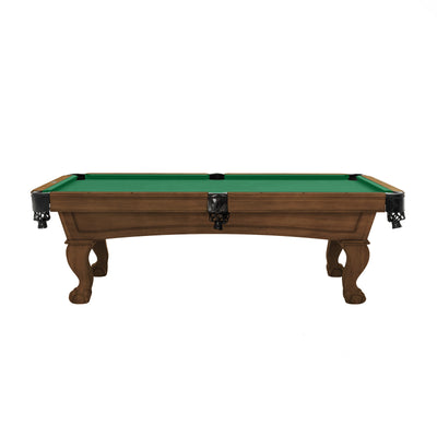 The Resolute Pool Table, Whiskey with Ball and Claw Legs