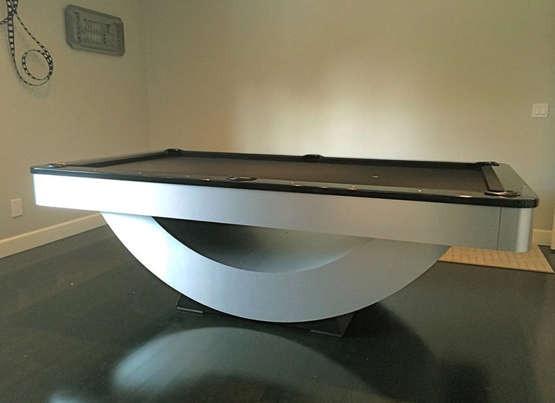 Reverse Rainbow Modern Pool Table
