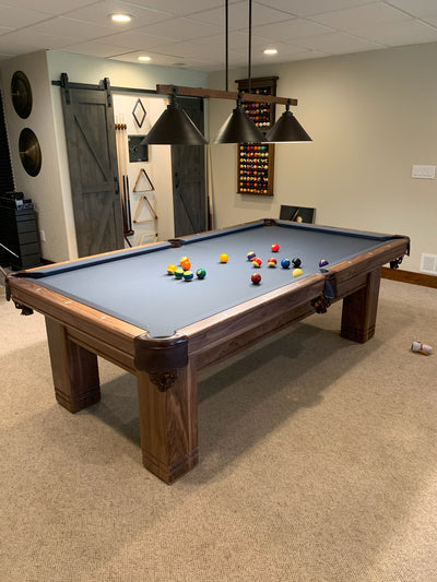 A. E. Schmidt St. Louisian Pool Table