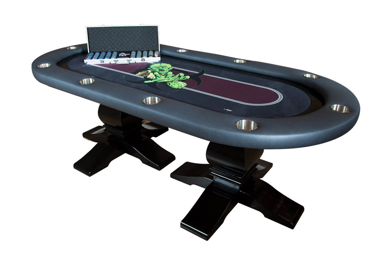 """The Undead"" Elite Poker Game Table"