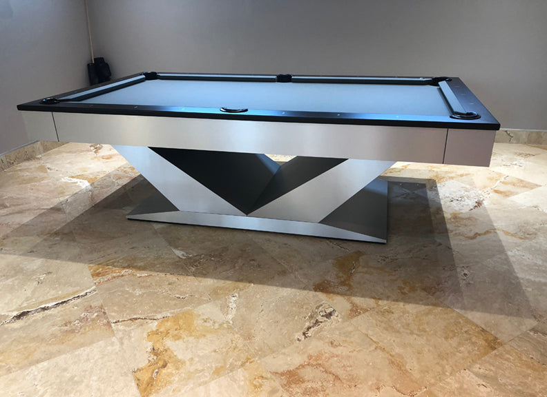 V-Table Modern Pool Table