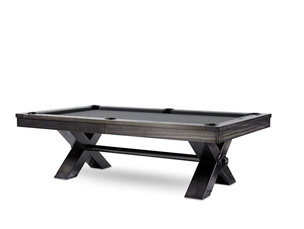 Vox Gunmetal Grey Steel Pool Table