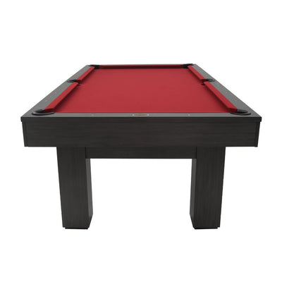 The Brookline 8ft Pool Table with Storage Drawer, Kona