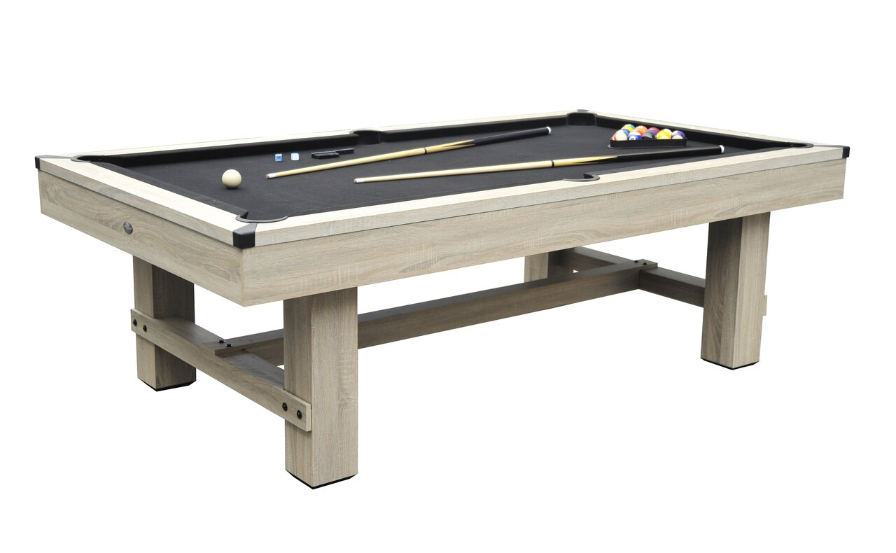 Bryce Beach Wood Pool Table