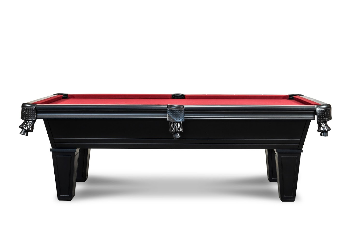 Corona Pool Table in Black