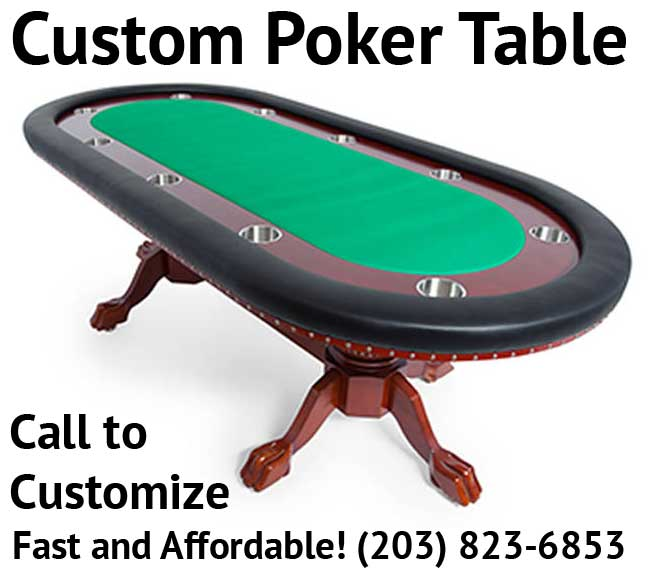 Customize Your Poker Table