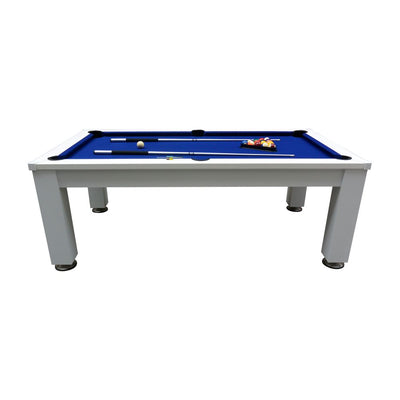 Esterno Outdoor Pool Table with Dining and Table Tennis