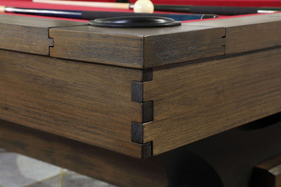 Plank and Hide Knox Pool Table