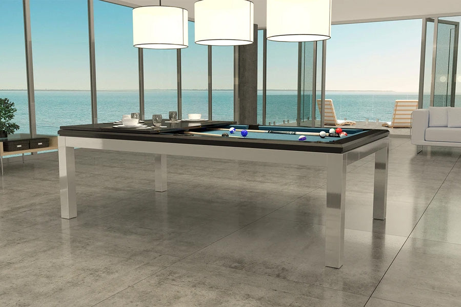 La Condo Evolution Stainless Pool Table
