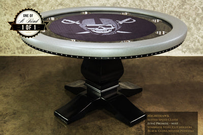 Nighthawk Poker Table in Custom Mist