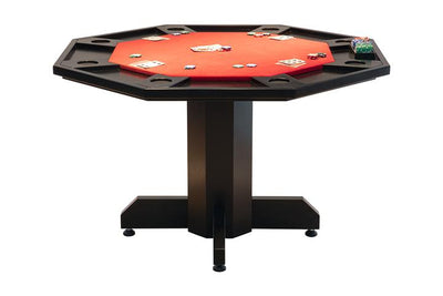 OCTOGONAL 2 IN 1 POKER/DINING TABLE