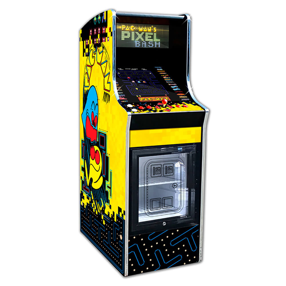 Pacman Pixel Bash Chill Arcade Game