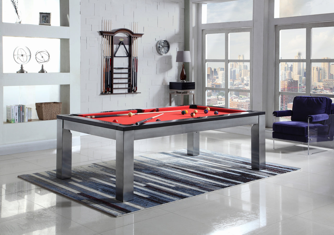 Monaco Slate Pool Table with Dining Top