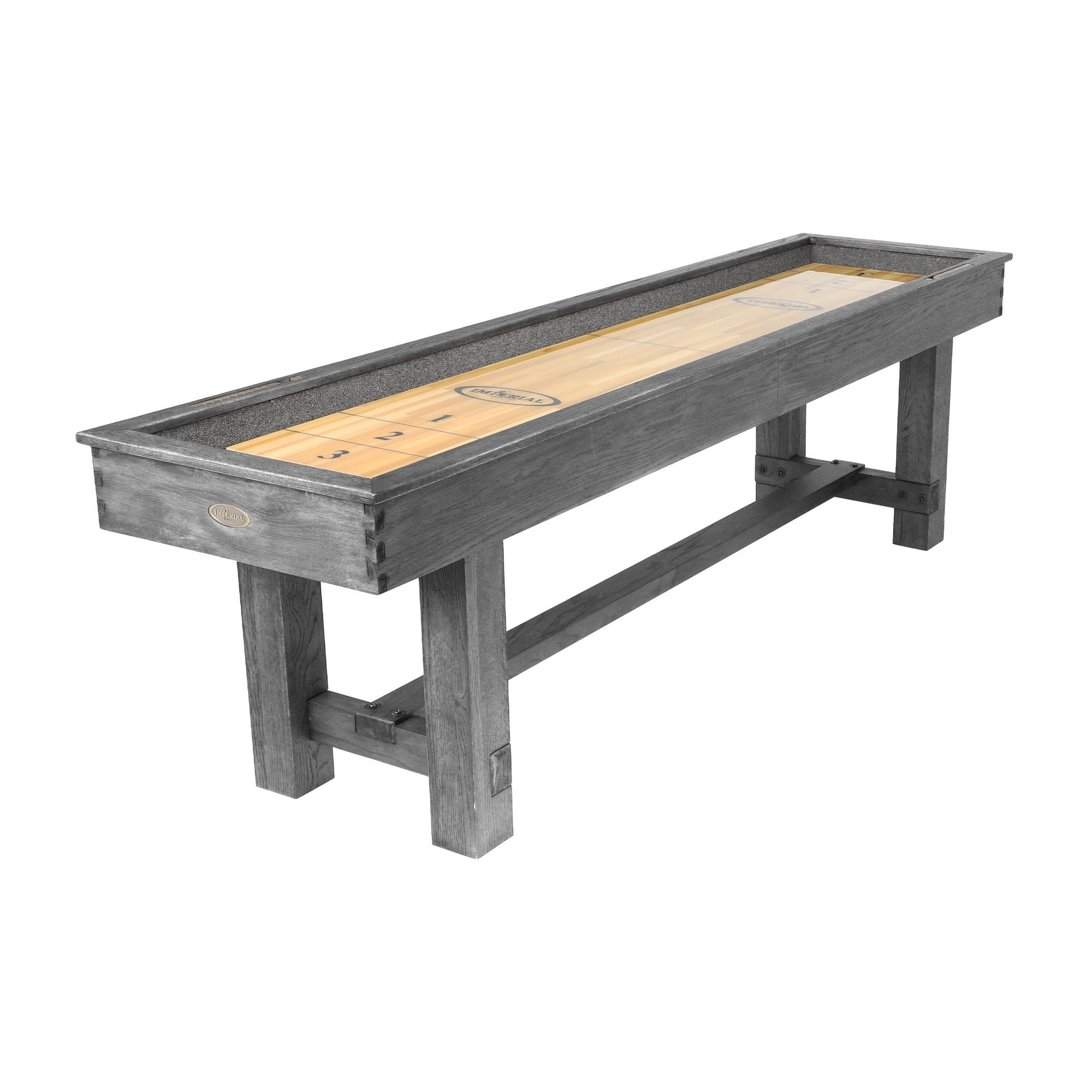 Reno Shuffleboard Table Silver Mist