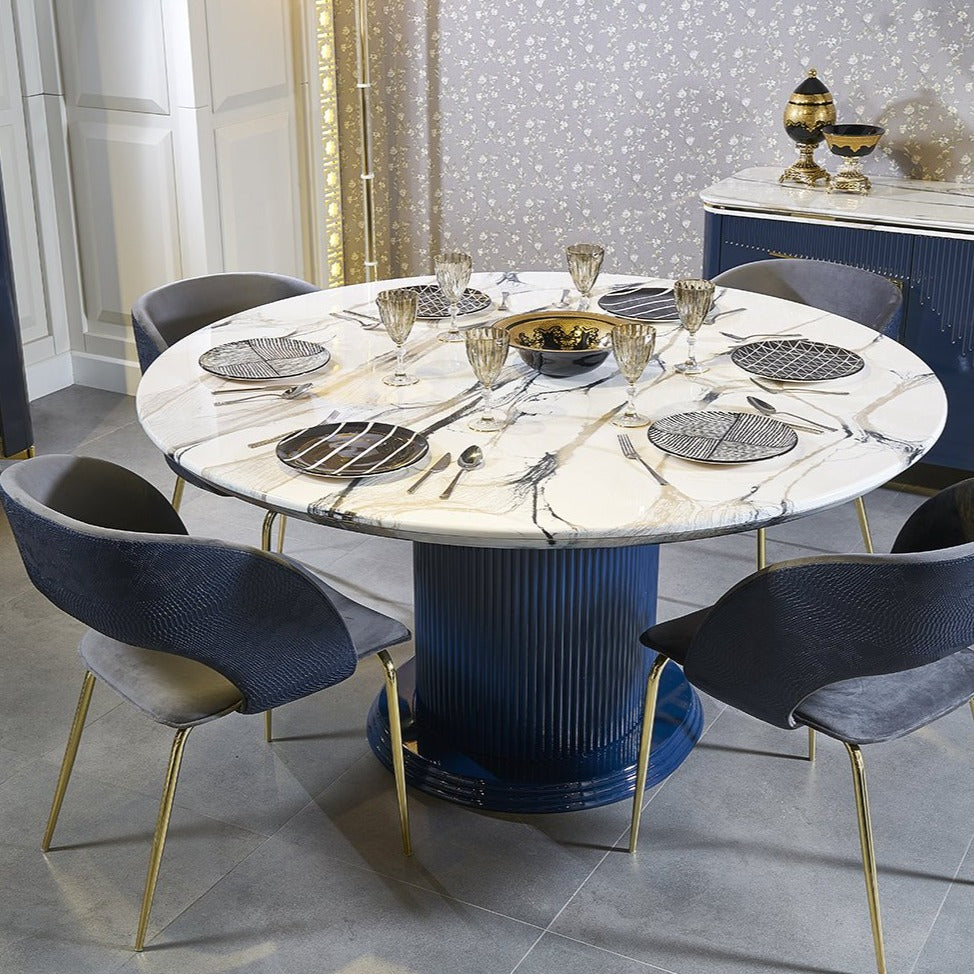 VERSACE DINING TABLE SET - Voguish Furniture