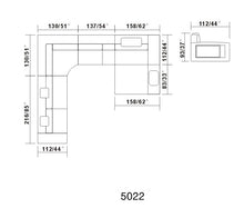 Load image into Gallery viewer, V5022 Sectional - Voguish Furniture