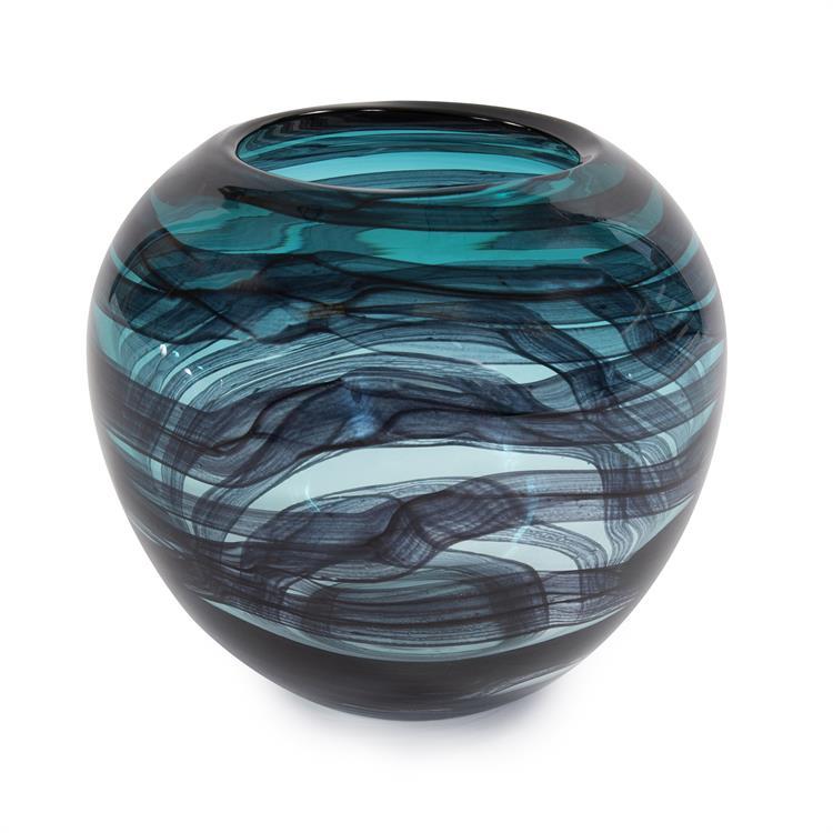Bowl, Cyclone Hand Blown - Voguish Furniture