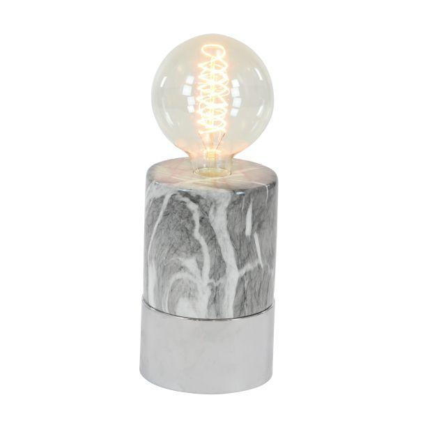 CERAMIC LAMP W BULB - Voguish Furniture