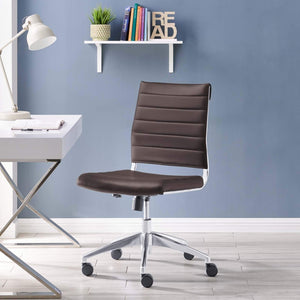 Jive Armless Mid Back Office Chair - Voguish Furniture