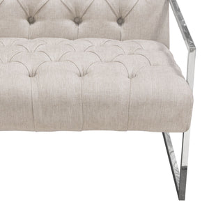 Luxe Tufted Accent Chair - Voguish Furniture